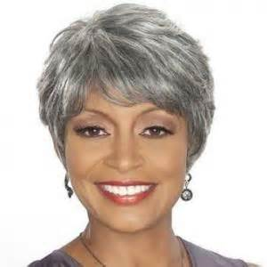gray hair pieces for american 8 inch faddish short curly gray african american wigs for