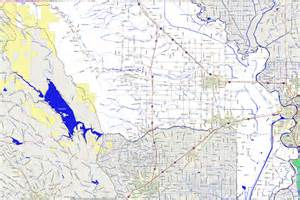 yolo county california map landmarkhunter yolo county california