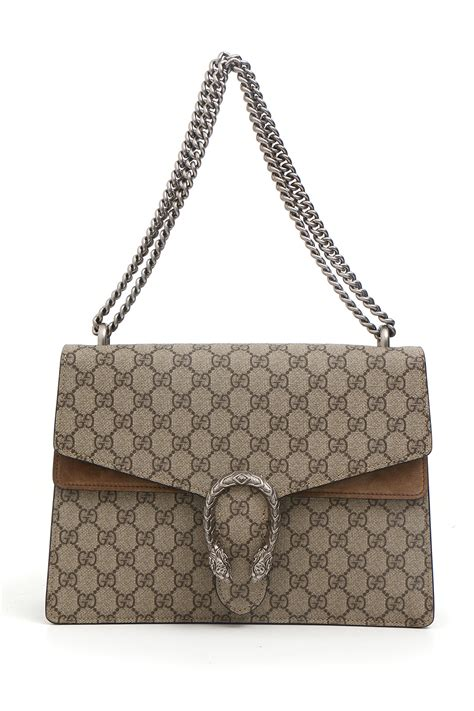 Bross Gucci gucci borse in beige marrone lyst