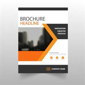 downloadable brochure templates brochure template design vector free