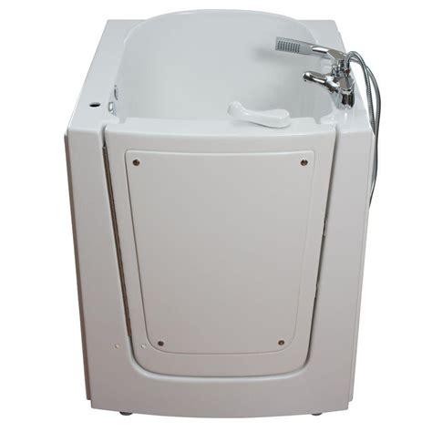 air massage bathtub ella front entry 2 75 ft x 38 in walk in air massage