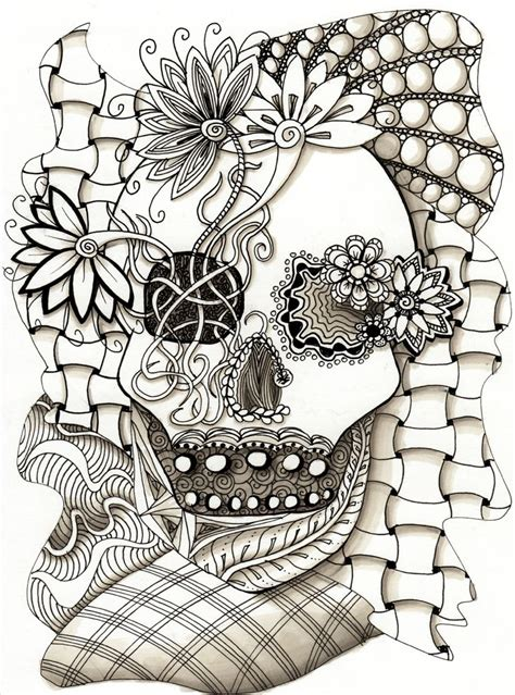 doodle skull meaning zentangle skull skulls the o jays