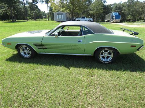 Original Dodge by Daily Turismo Original Green Paint 1973 Dodge Challenger 340