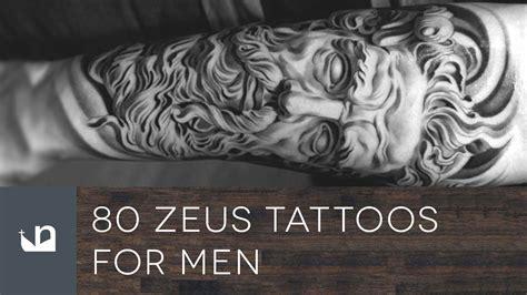 80 zeus tattoos for men youtube