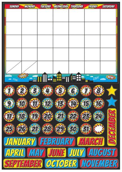 Calendar Set Mini Magnetic Calendar Set Theme Splash