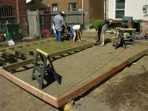 Hidden Backyard Pool How To Build A Deck How Tos Diy