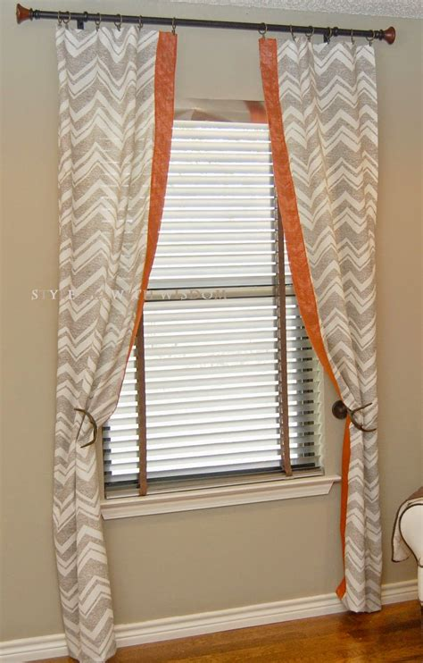orange nursery curtains woodland nursery chevron curtains designs i love
