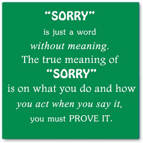 s day what does the say saying i am sorry quotes quotesgram