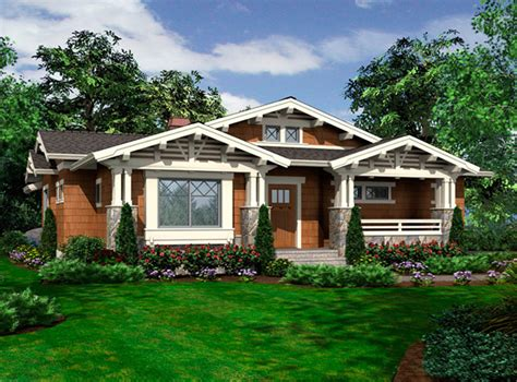 one bungalow house plans vaulted one bungalow 23264jd architectural