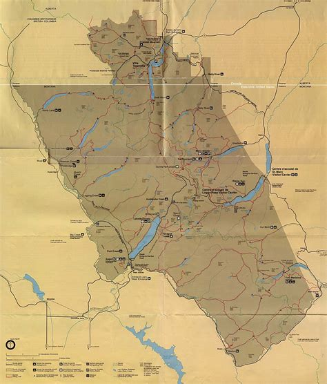 map of alberta canada and montana statemaster statistics on montana facts and figures