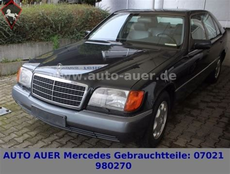 Auto Auer Kirchheim by 1991 Mercedes W140 Is Listed Sold On Classicdigest In