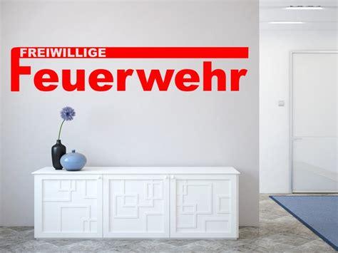 Aufkleber Wand by Wandtattoo Aufkleber Feuerwehr Wandtatoo Wandaufkleber