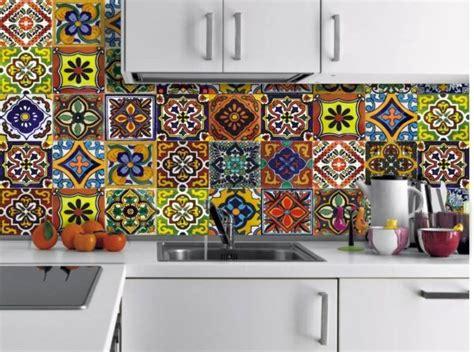 Kitchen Backsplash Tile Stickers los mejores dise 241 os de vinilos para cocinas 2017