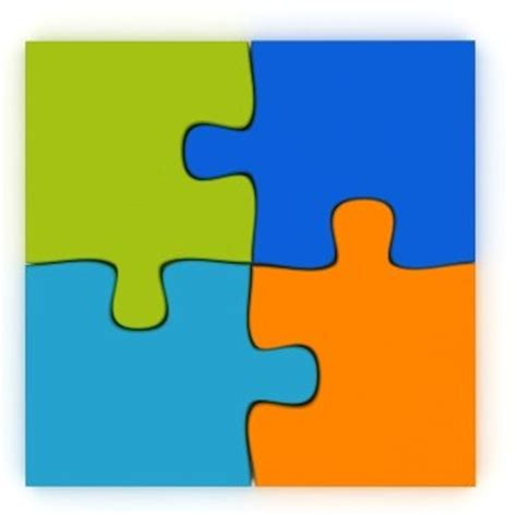 Editable Puzzle Clip Art 56 Editable Puzzle Pieces