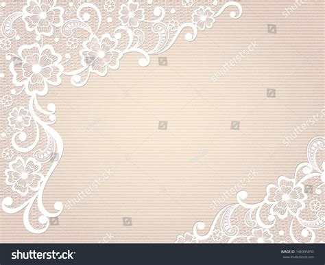 lace templates card template frame design for card vintage lace doily stock