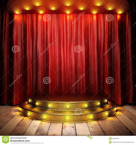 theater curtain material red fabric curtain royalty free stock photos image 30461458