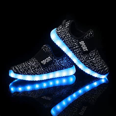 led shoes bbx brand usb led shoes summer mesh fashion led
