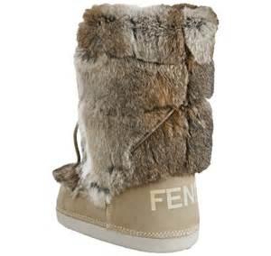 nicki minaj wearing fendi suede and rabbit fur st mortiz