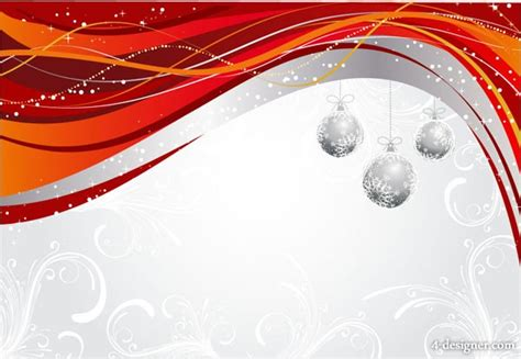 christmas pattern lines 4 designer dynamic christmas pattern hanging ball