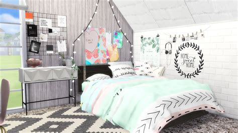 find your 4 suitable boys room d 233 cor ideas here midcityeast sims 4 speed build let s decorate teen girl s