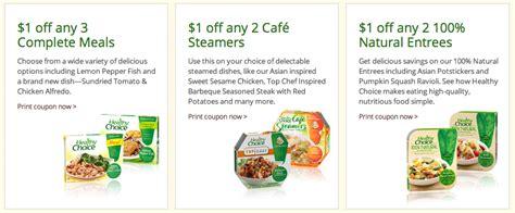 healthy food printable coupons healthy choice printable coupons