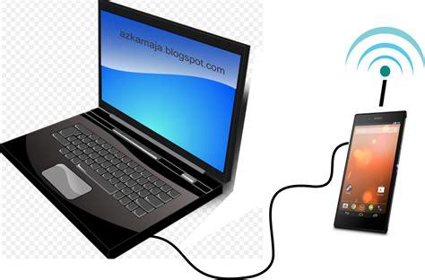 Wifi Portable Untuk Laptop cara mengubah settingan wifi hp smartphone modem agar bisa terkoneksi melalui komputer