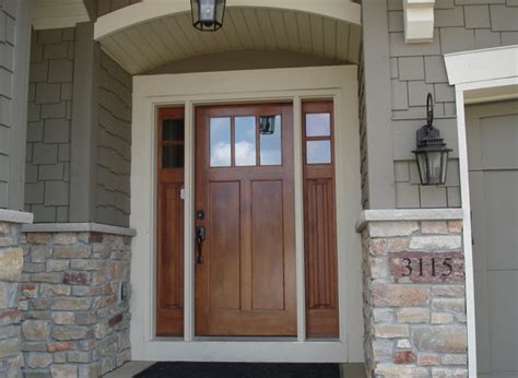 Exterior Doors Craftsman Style Front Door With Double Exterior Doors Prices