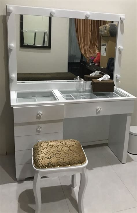 Harga Make Vanity meja rias lu minimalis meja make up artis harga murah