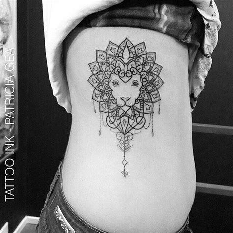 tattoo mandala costela tatuagem feita por patriciagea marque seus amigos nos