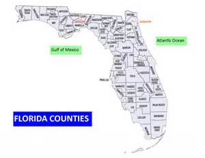 Counties In Florida Map by Counties In Florida Tampa Commercial Real Estate