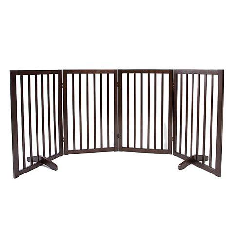 petsmart gates top paw 174 4 panel freestanding wood pet gate doors gates petsmart