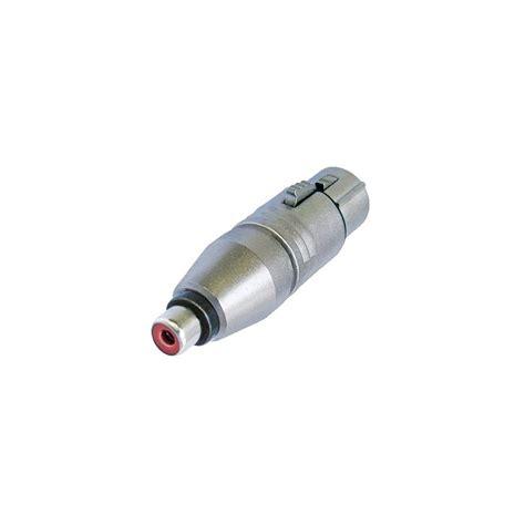 Converter Xlr To Rca Audio Adapter Connector neutrik xlr rca adapter audiophonics