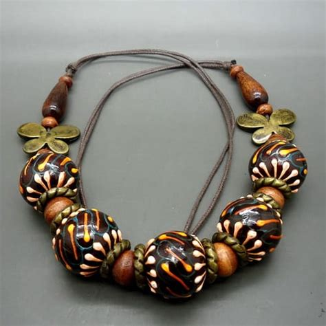 Kalung Unik Antik kalung etnik antik unik pusaka dunia