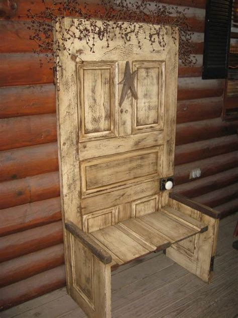 12 creative ideas for using old wooden doors