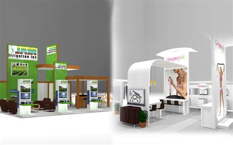 trade show booth design los angeles landing custom towers display booth image design and
