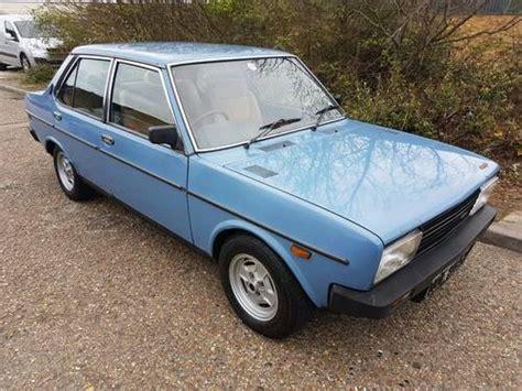 fiat 131 for sale fiat 131 1600 tc mirafiori sold 1982 on car and