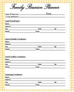 free family reunion planner templates reunions free printables and the o jays on