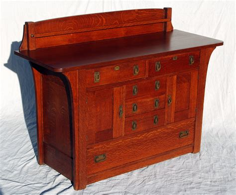 Limbert Sideboard voorhees craftsman mission oak furniture charles limbert sideboard buffet