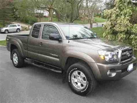Toyota Tacoma Road Package Buy Used Toyota Tacoma Access Cab 4x4 Road Package