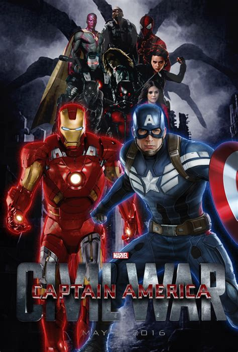 Kaos Avenger Ironman poster captain america civil war by bulldoster on deviantart