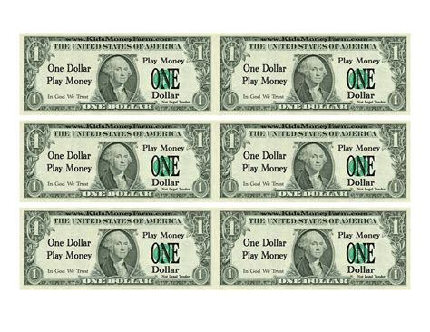 11 best images of prop money template printable