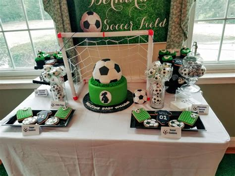 Soccer Themed Baby Shower Ideas by Sport Soccer Baby Shower Ideas Photo 4 Of 17