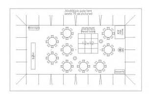 wedding floor plan template cad tent layout for wedding reception with 75 guests in bellingham pacific party canopies