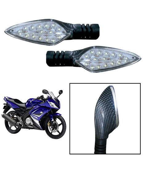 Lu Led Motor Yamaha R15 vheelocityin high quality carbon fiber style led indicators for yamaha r15 set of 2 buy