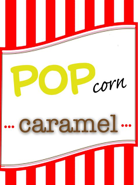 printable popcorn labels popcorn pack favors printable labels the paisley box