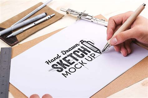 sketchbook mock up free 25 free psd templates to mockup your sketches drawings
