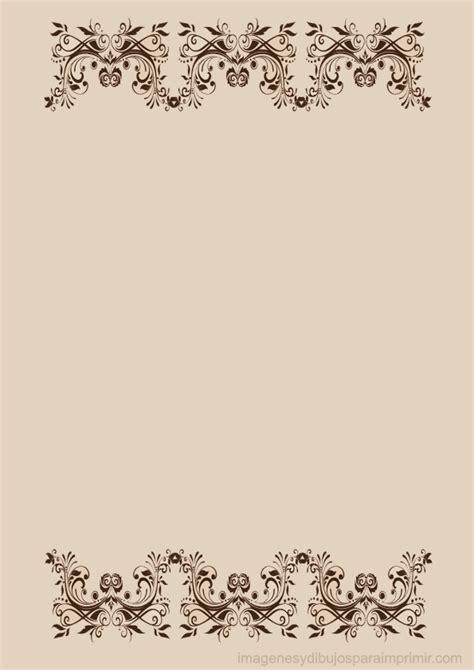 imagenes para decorar hojas blancas hojas decoradas con flores imagui