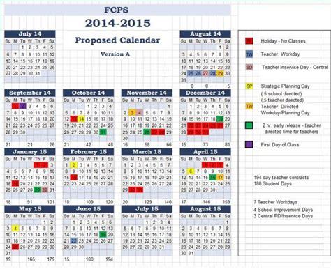 Fairfax County School Calendar Fairfax County Schools Calendar 2017 16 Calendar 2017