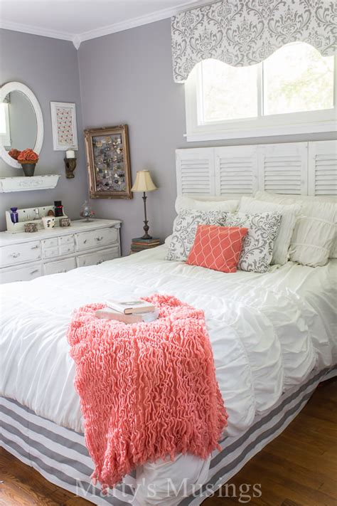 coral grey bedroom drool worthy decor dramatic master bedroom makeovers