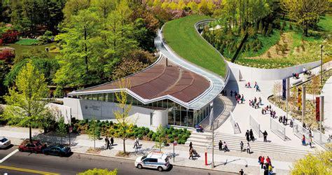 Ny Botanical Garden Gift Shop Weiss Manfredi Botanic Garden Visitor Center